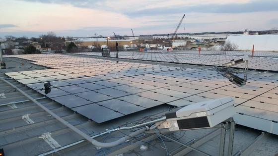 工商企业太阳能薄膜光伏发电
