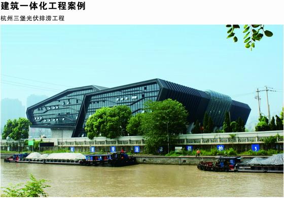 杭州市三堡光伏发电排涝工程