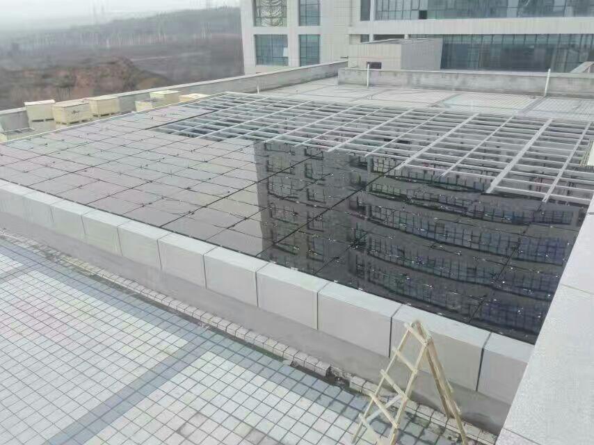 中空夹胶20%透光发电组件